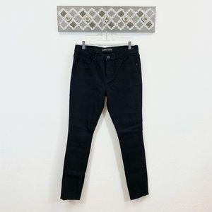 Express Jeans Black Legging Mid Rise, Size 10